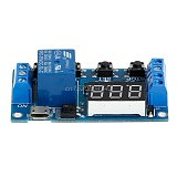 6-30V Relay Module Switch Trigger Time Delay Circuit Timer Cycle Adjustable R06 Whosale&DropShip