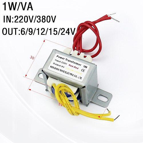 Dual/Single  Input 220V 380V 1W  power transformer For Spot Welding Controller spot welder 6V/9V/12V/15V/24V