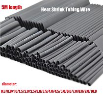 Heat Shrink SetCable Sleeve HeatShrink Tubing Tube Wrapped Braided Sleeving Cables ThermoRetractable CarElectrical Cable Tubekit