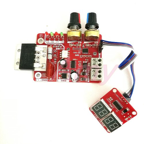 NY-D01 100A Spot-Welding Machine Control Board Regulating Time and Current Digital Display Transformer Controller Parts