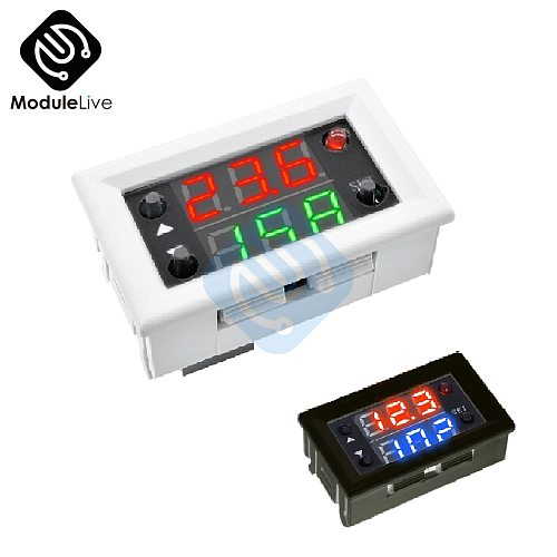 DC 12V Dual Double Display Time Relay Module Time Delay Relay Mini LED Digital Timer Relay Cycle Time Control Switch Home