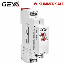 GEYA GRT8-A Delay on Time Relay 12V 24V 230V Timer Relay Din Rail Type Time Delay Relays with CE CB certificate
