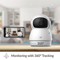 YI Dome Guard Camera Indoor AI-Powered 1080p Security Home Surveillance System Human & Motion Detection Abnormal Sound Detection