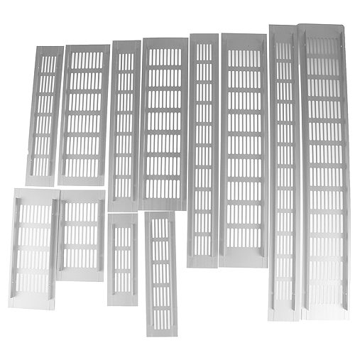 Hot New Aluminum Alloy Vents Perforated Sheet Air Vent Perforated Sheet Web Plate Ventilation Grille Vents Perforated Sheet