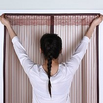 6 Size Magnetic Screen Door Curtain Net Anti Insect Mesh Fly Screen Mosquito Protection Net Magnet Curtains for Doors Windows