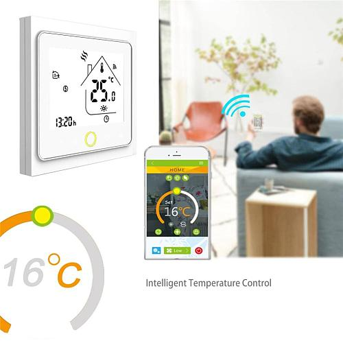 New 2020 Smart Thermostat Temperature Controller For Water/Electric floor Heating Water Gas Boiler Works With Alexa Google Home