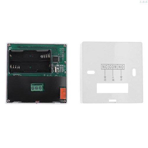 Digital Gas Boiler Thermostat 3A Weekly Programmable Room Temperature Controller L29K