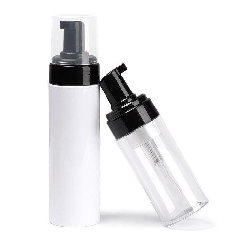 1Pc 100/120/150/200/250ML Clear Foaming Bottle Liquid Soap Whipped Mousse Points Bottling Shampoo Lotion Shower Gel Foam Pump