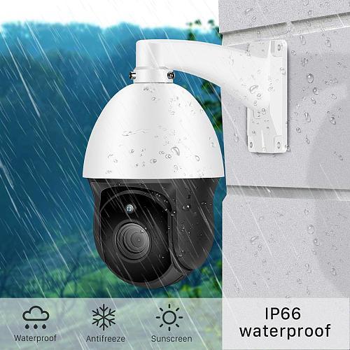 ANBIUX H.265 3MP PTZ IP Camera 2MP 30X ZOOM Waterproof Hi3516E 1080P Mini Speed Dome Camera Outdoor IR 60M CCTV Security Camera