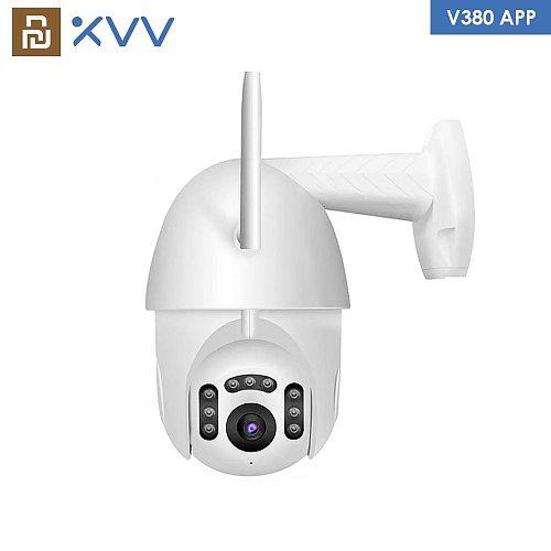 Xiaovv B7 IP Camera 1080P HD PTZ WiFi Dome Webcam V380 APP Waterproof ONVIF Security Surveillance Wireless CCTV Outdoor Camera