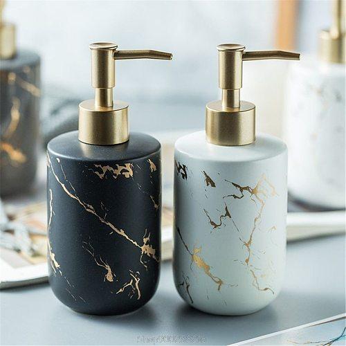 300ML Ceramics Emulsion Bottles Creative Latex Bottles Liquid Soap Dispensers Bathroom Set Home Decoration Au 20 Dropship