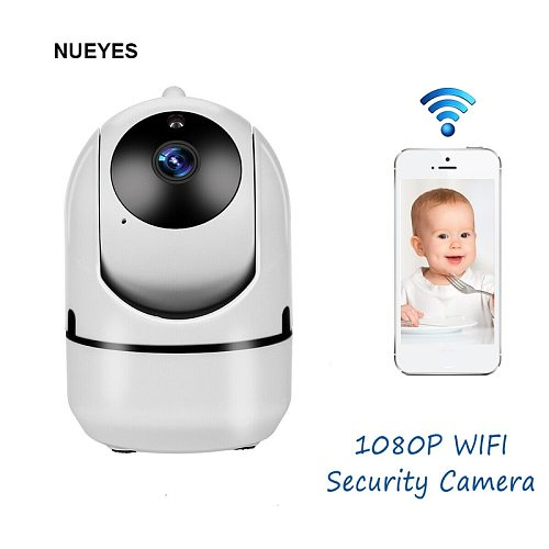 IP Camera WiFi Security Surveillance 1080P Cloud Auto Tracking Wireless Remote Control Infrared Night Vision CCTV Baby Monitor