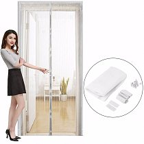 Summer Anti Mosquito Insect Fly Bug Curtains Magnetic Mesh Net Automatic Closing Door Screen Kitchen Curtain Drop Shipping