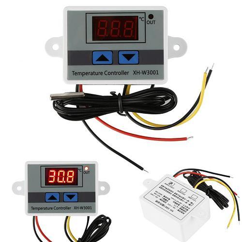 LED Digital Temperature Controller Thermostat Thermoregulator Sensor Meter Incubator Fridge Heating Cooling High Quality