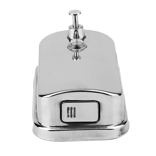Super Large Size 500/800/1000ML Kitchen Bathroom Wall Mounted Stainless Steel Pump Soap Shampoo Dispenser