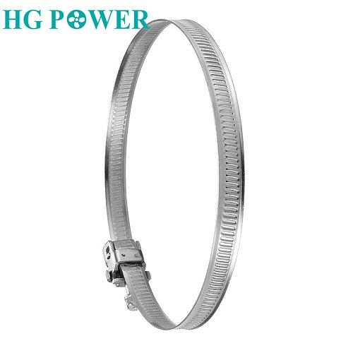 1pcs Stainless Steel 201 Worm Drive Hose Clamp for Duct Fan Fuel Pipe Tube Clip Clamp Adjustable Inline Ducted Fan Accessories