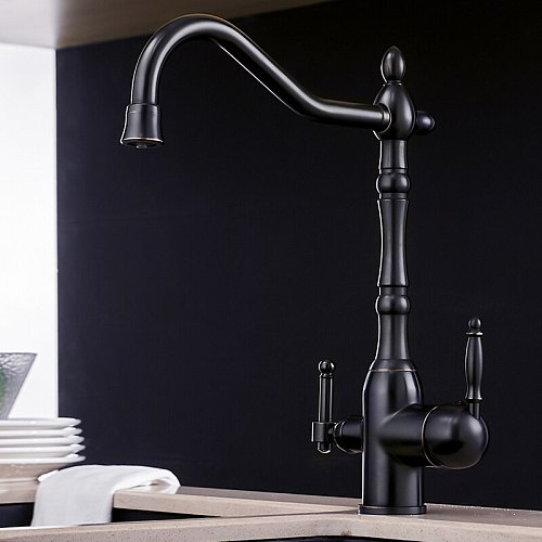 Kitchen Purify Faucets Gold Mixer Tap Cold and hot 360 Rotation with Water Purification Features Kitchen Crane Tap N22-192