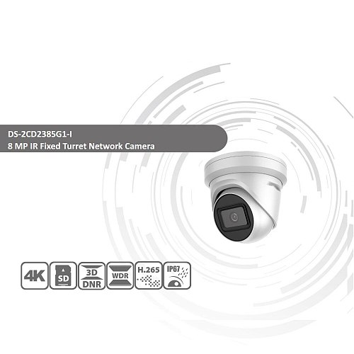 Hikvision Original IP Camera DS-2CD2385G1-I 8MP Network CCTV Camera H.265 CCTV Security POE WDR SD Card Slot EeayIP 3.0 OEM