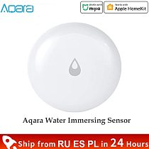 Aqara IP67 Water Immersion Sensor Flood Water Leak Detector for Home Remote Alarm Security Soaking Sensor Work For Mijia Homekit