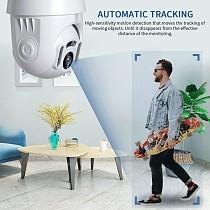 INQMEGA 1080P Tuya Auto Tracking Wifi Camera IP WiFi Security Home PTZ Speed Dome CCTV IR Onvif Outdoor With Google Home OrAlexa