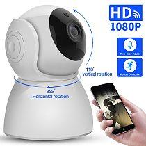 IP Camera baby monitor 360 Degrees Pan Tilt Rotation cctv Wifi IP Camera 2Mp 1080P Full HD LAN Port IR Night Vision interior
