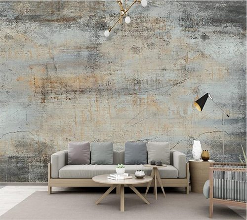 beibehang Custom wallpaper 3d large murals hand-painted high retro cafe background wall living room bedroom decoration painting