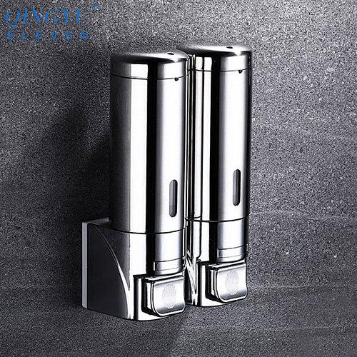 New soap dispenser wall mounted bathroom Hotel shampoo lotion liquid soap dispenser stainless steel hand soap dispenser