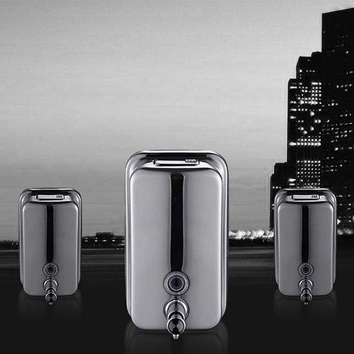 500ML 800ML 1000ML Soap Dispenser Wall Mounted Stainless Steel er Hand Sanitizer Detergent Dispenser For Bathroom Kitchen Hot