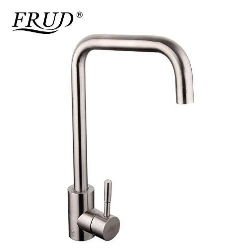 FRUD Kitchen Faucet Kitchen Mixer Taps for Kitchen Sink Faucet Single Handle Hot Cold Water Tap Stream Deck griferia