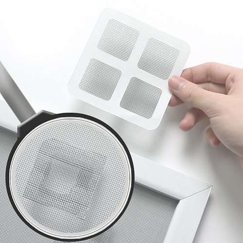 Window Net Anti-mosquito Mesh Sticky Wires Patch Repair Tape Screen Window Door Mosquito Net Patch Sticky Repair Broken Hole