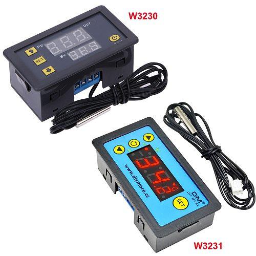AC 110V-220V DC12V 24V Digital Thermostat Temperature Controller Regulator Heating Cooling Control Instruments LED Display