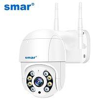 Smar 1080P Outdoor PTZ Wireless IP Camera 4X Digital Zoom Speed Dome Mini WiFi Security CCTV Audio Camera Ai Humanoid Detection