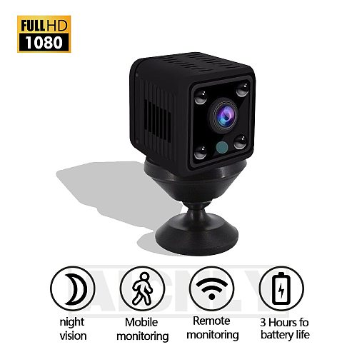 ip camera mini camera baby wifi HD 1080P Night Vision Camcorder Motion DVR Motion detection CMOS Sensor Recorder Camcorder