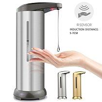 Automatic Soap Dispenser Pump Touchless Infrared Sensing Liquid Soap Holder Shampoo Dispenser Bathroom Hand Washing