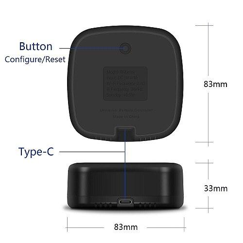 Tuya Rm mini smart home universal IR remote controller,AI Voice Control AC, TV box via Alexa ,Google Home ,Wifi remote by APP