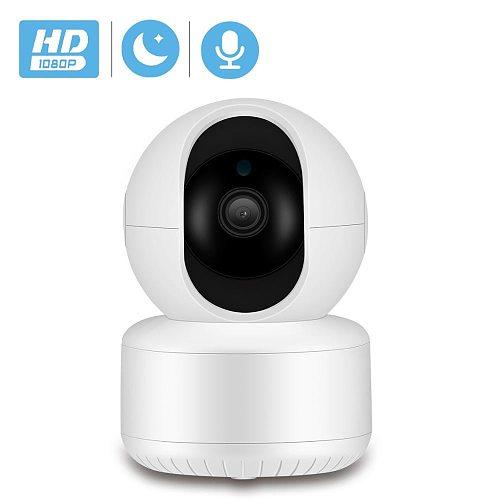 BESDER 1080P IP Camera Wifi Ai Detection Auto tracking CCTV Camera Wireless Night Vision Alarm Audio 2MP CCTV Security Camera SD