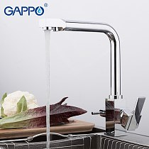 GAPPO Kitchen Faucet water filter tap kitchen sink faucet water mixer crane kitchen tap torneira with filtered water Brass Mixer