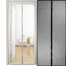 Hot Summer Anti Mosquito Insect Fly Bug Curtains Magnetic Net Mesh Automatic Closing Door Screen Kitchen Curtain