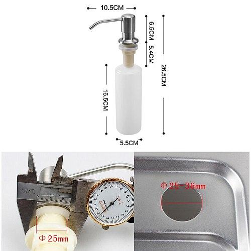 Kitchen Soap Dispensers Stainless Steel Kitchen Sink Counter top Soap Dispenser EL8406