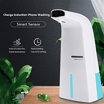 300ml Automatic Soap Dispenser Touchless Smart Sensor Hand Washing Shampoo Detergent Dispenser For Bathroom Kitchen Hardware