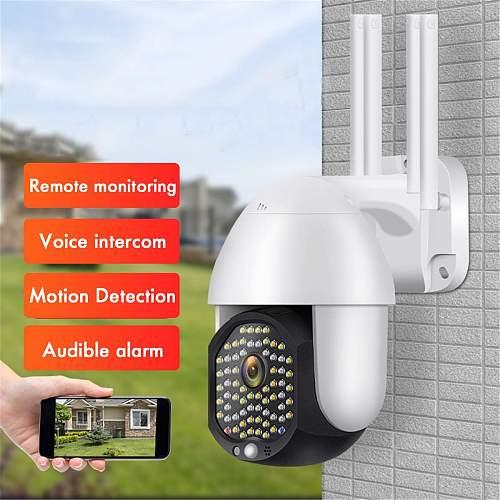 5MP Camera Wifi Version PTZ 4X 1080P Outdoor Security Wireless Monitor Waterproof CCTV Smart Home Surveillance