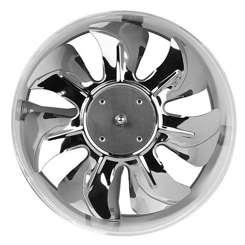 'The Best' 4Inch/6Inch Inline Duct Fan Booster Exhaust Blower Air Cooling Vent Metal Blades 889