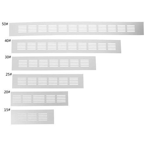 15cm, 20cm, 25cm, 30cm, 40cm, 50cm Aluminum Alloy Air Vent Perforated Sheet Web Plate Ventilation Grille
