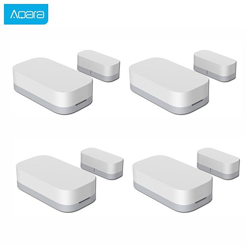 Aqara Door Window Sensor Zigbee Wireless Connection Smart Mini Door Window Burglar Alarm Work With Android IOS App control Home