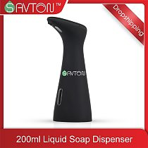 SAVTON Intelligent Automatic Liquid Soap Dispenser Induction Children Hand Washing Machine For Kitchen Bathroom Smart Dispenser