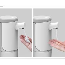 Automatic Soap Dispenser 450ML perfectless Foaming Soap Dispenser Hands-Free USB Charging Electric Soap Dispenser