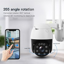 5MP 2MP Wireless 4G Wifi Security Camera 1080P HD 5X Optical Zoom PTZ IP Camera Outdoor Home Security CCTV Surveillance Cam
