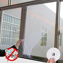 Insect Mesh Window Screen Net Mosquito Bug Fly Netting Moth Window White Color Door & Window Screens Home Textile