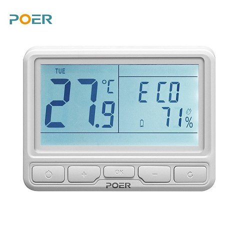 Thermostat for underfloor heating Wireless Boiler temperature Controller home Heating Programmable 2 thermostats thermoregulator