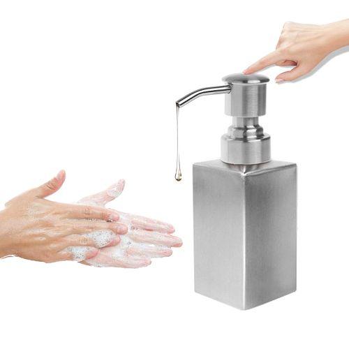 Liquid Soap Dispenser Press Head Lotion Pump Bottle Nozzle Dispenser Replacement Jar Tube